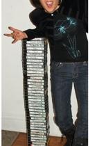 Ralph Lauren jacket - MNG top - thrifted earrings - bitten jeans - DocMartens bo