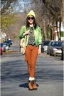 Tawny-urban-outfitters-boots-yellow-american-apparel-hat