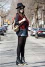 Ruby-red-urban-outfitters-vest-gray-h-m-blazer