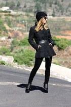 Michael Kors boots - Armani Jeans jacket