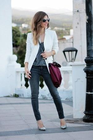 Maje jeans - Penny Black blazer - Zara top