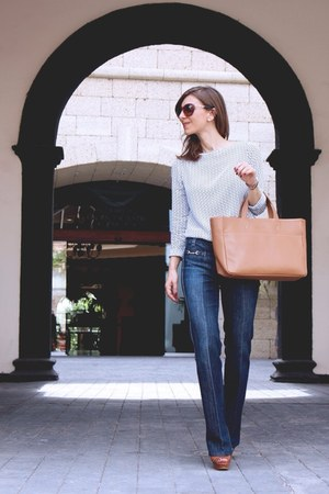 7 for all mankind jeans - Zara blouse
