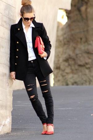 Mango jeans - Zara blazer