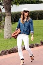 Zara jeans - Bimba & Lola shirt - balenciaga bag