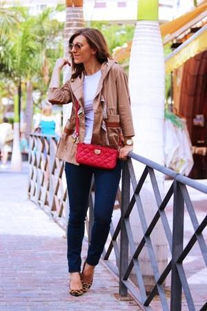 DKNY bag - Zara jeans - Chiarini Bologna heels