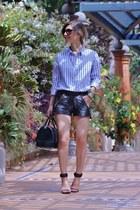 Zara shirt - Maje shorts