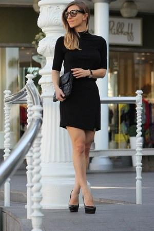 Zara top - Mango skirt - Christian Louboutin heels