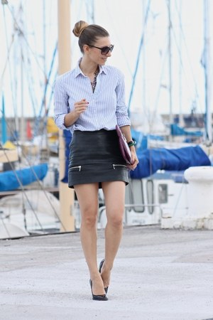 Zara skirt - Tommy Hilfiger shirt