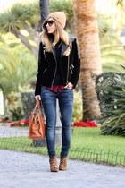 Mango jeans - Mango jacket - Massimo Dutti bag