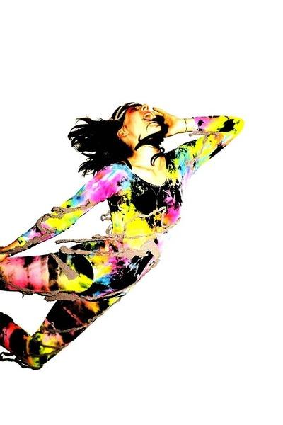 splash color We Love Colors bodysuit