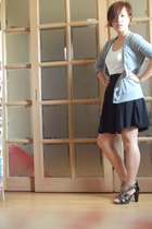 Korean sweater - Korean vest - Korean skirt - Korean shoes