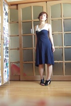 American Apparel dress - Nine West shoes