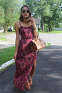 Maroon-american-eagle-dress-brown-leather-satchel-ralph-lauren-bag