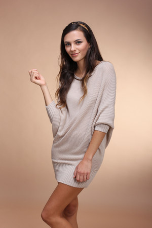 tan West 36th jumper - camel Urban Outfitters accessories