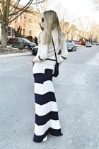navy Jay Godfrey dress - white Ralph Lauren sweater