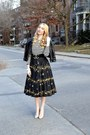 Black-forever-21-jacket-black-joe-fresh-shirt-black-vintage-skirt