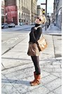 Brown-forever-21-sweater-brown-frye-boots-tan-ysl-purse