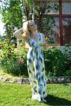 chartreuse Tart dress