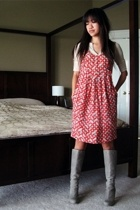 Mango dress - twelth street by cynthia vincent boots