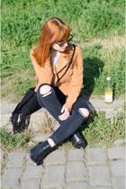 ASH boots - fringe vintage jacket