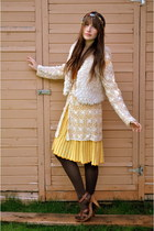 ivory China Town vest - yellow Forever 21 dress