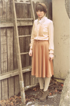 camel vintage dress clothes swap dress - light brown Blowfish Shoes wedges