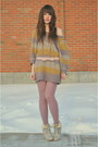 Pink-h-m-sweater-pink-thermal-tights-h-m-tights-off-white-atseoulcom-heels