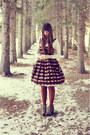 Light-brown-blowfish-shoes-shoes-black-value-village-dress