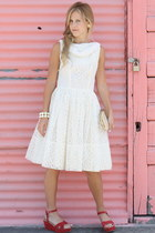 vintage dress - Urban Outfitters sandals