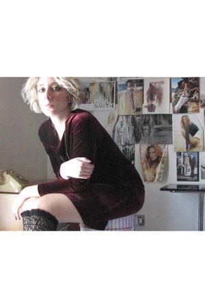 vintage dress - Calzedonia tights