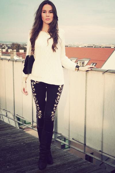 Isabel Marant jeans - Chanel bag - Hermes bracelet