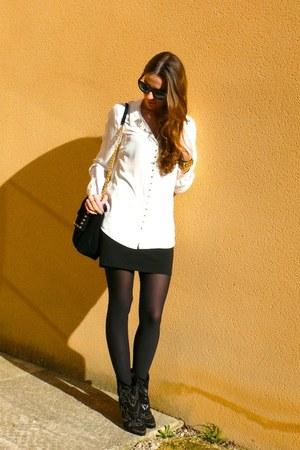 Isabel Marant boots - Mango blouse