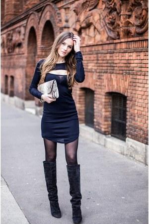 navy Isabel Marant dress