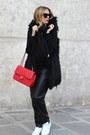 Chanel-bag-zara-pants-adidas-sneakers