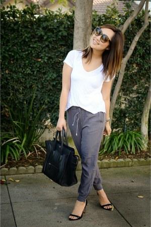 Celine purse - Zara t-shirt