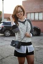 Zara shorts - Target sweatshirt