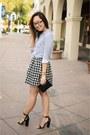 Nordstrom-purse-topshop-heels-target-skirt
