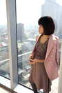 Light-brown-pazzo-dress-pink-50-coat
