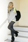 Black-lace-up-boots-nine-west-boots-navy-jeggings-leggings-black-faux-leathe