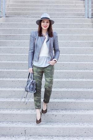 olive green Zara pants