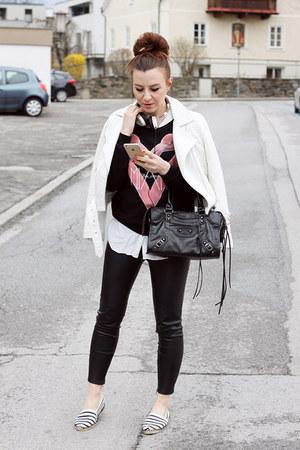 black FOY Paris sweater