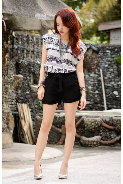 black FEMMEX blouse