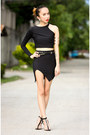 Black-oasap-sandals-black-ms-mannequin-skirt