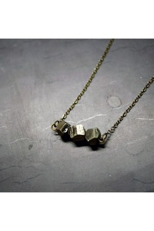 gold Wildcatters necklace