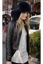 hat - jacket