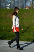 biker boots sam edelman boots - jeans Gap jeans - top H&M top