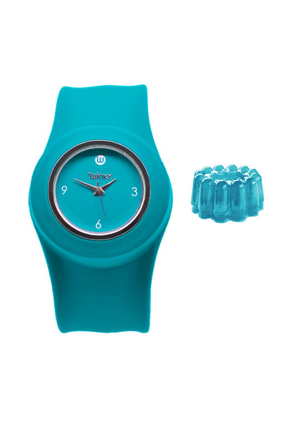 Jelly Turquoise Slap Watch watch