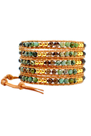 turquoise blue Winky Designs bracelet