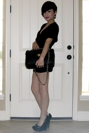 Bebe shoes - Chanel purse
