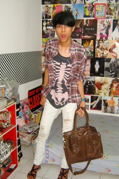 Polo Ralph Lauren shirt - Zara t-shirt - Zara jeans - Zara accessories - Zara sh